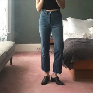 Red Tab High Waisted Levi's
